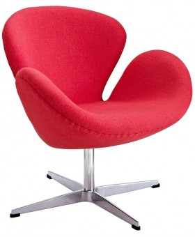 Arne Jacobsen Style Swan Chair шерсть